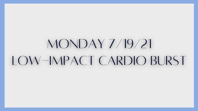 Low-Impact Cardio Burst (7-19-21) - Part 2