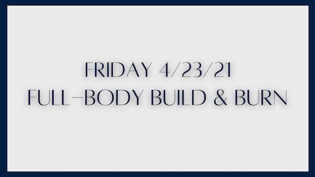 Full-Body Build & Burn: Glutes, triceps, chest (4-23-21)