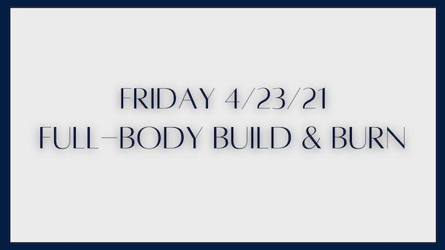 Full-Body Build & Burn: Glutes, trice...