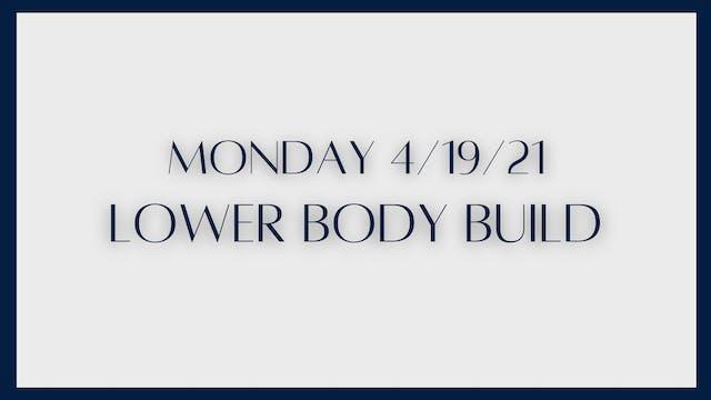Lower Body Build: Quads & hamstrings ...