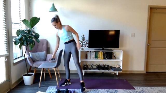 Build & Sweat: arms & legs (12/18/20)
