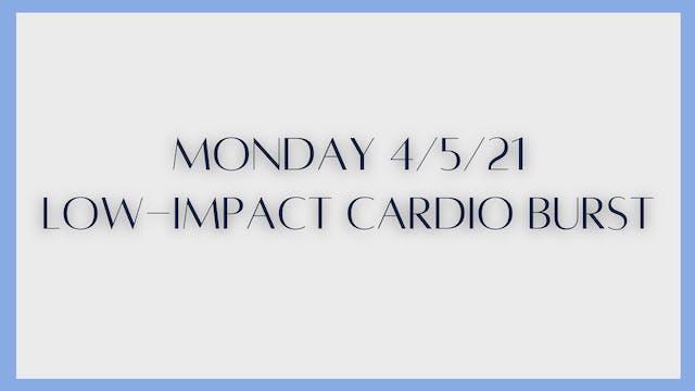 Low-Impact Cardio Burst (4-5-21)