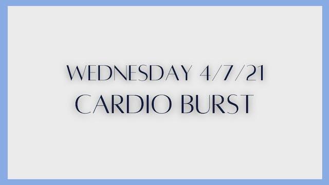 Cardio Burst (4-7-21)