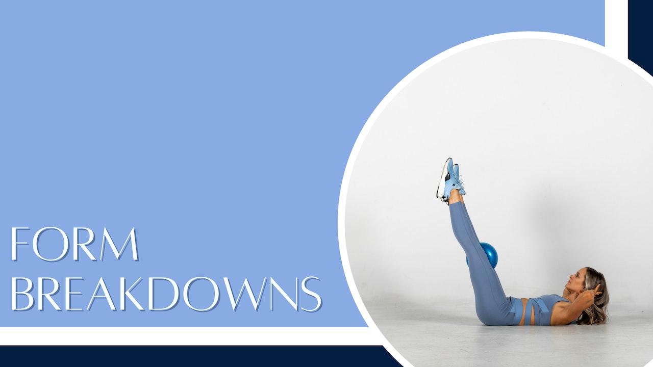 Form breakdowns