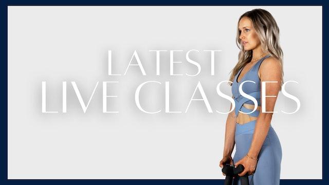 Latest live classes