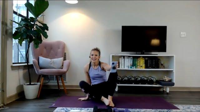 Upper body Build + Meditation 11-30-20
