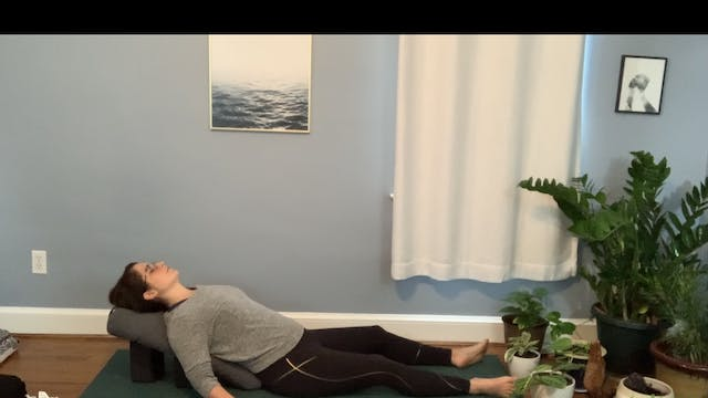 60 minute Restorative Yoga (with gues...