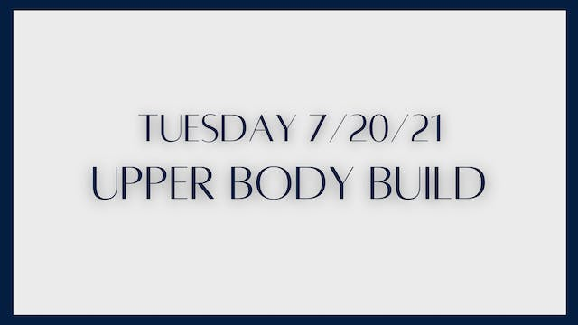 Upper Body Build: Chest & triceps (7-...