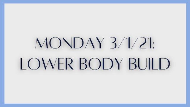 Lower Body Build: Glutes & Quads (3-1...