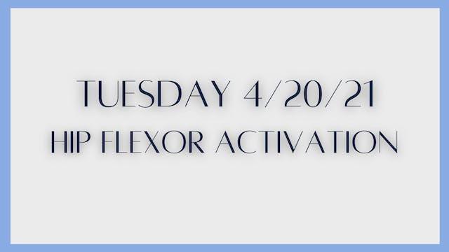 Hip Flexor Mobility & Activation