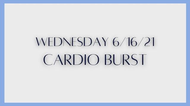 Cardio Burst: Tabatas (6-16-21)