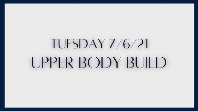 Upper Body Build: Chest, Back, Tricep...