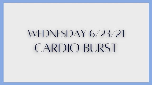Cardio Burst (6-23-21)