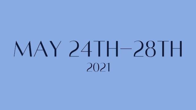 May 24th-May 28th