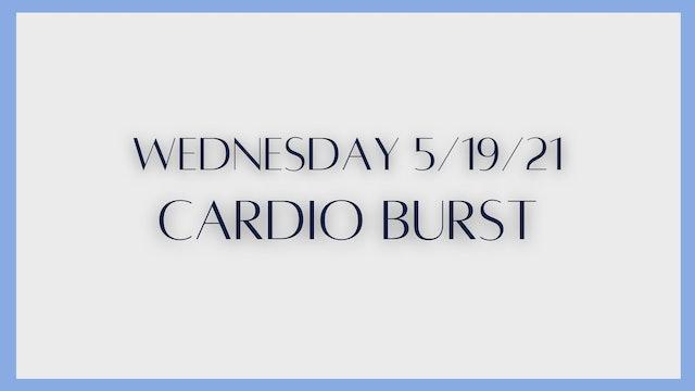 Cardio Burst (5-19-21)