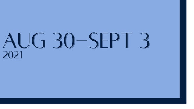 August 30th-September 2nd