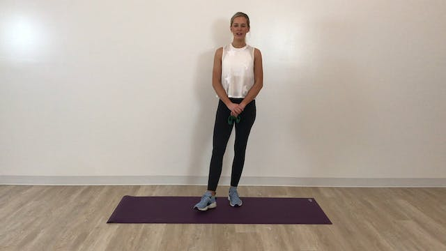 7 minute Burn: glutes and quads (low-...