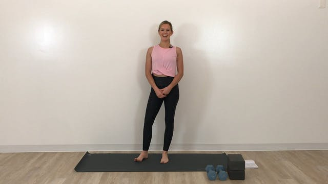 15 minute shoulder and neck stability