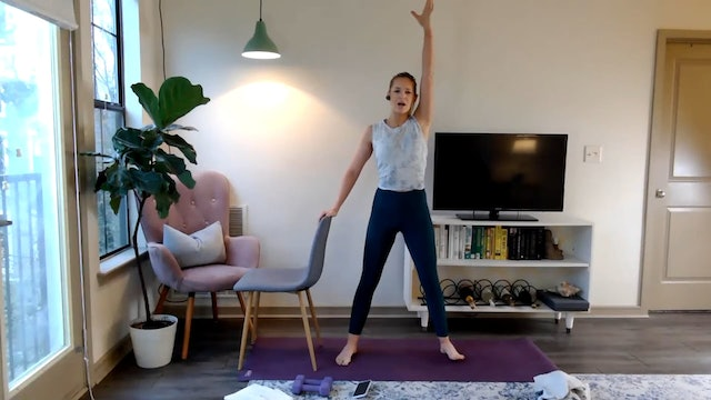 47 minute Power barre: glutes and arms 10-31-20