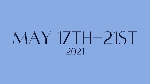 May 17th-May 21st