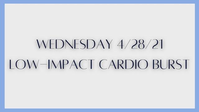 Low-Impact Cardio Burst (4-28-21)