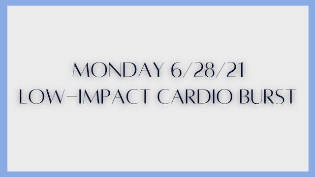 Low-Impact Cardio Burst (6-28-21)