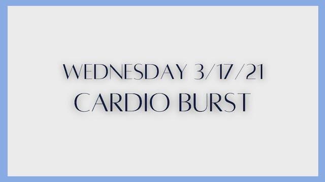 Cardio Burst (3-17-21)