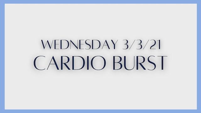 Cardio Burst (3-3-21)