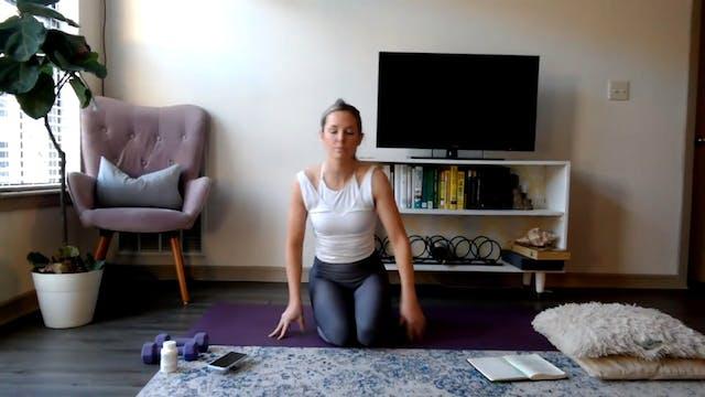 Shoulder activation + stability