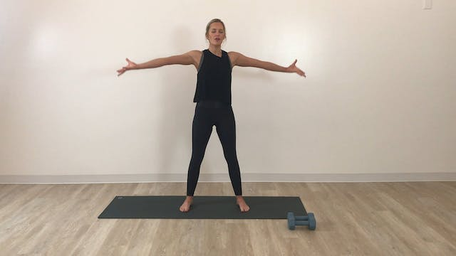 30 minute Flow + Strengthen: Arms (wr...