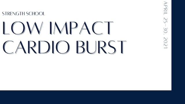 Low-Impact Cardio Burst (4-26-21)