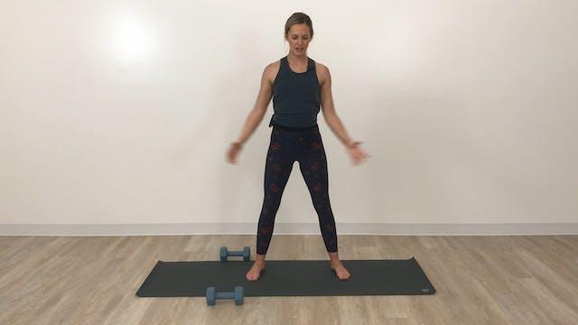 Build & Sweat: Legs (knee-friendly)