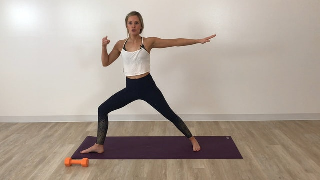 45-minute F+S: Glutes, abs, arms, HIIT