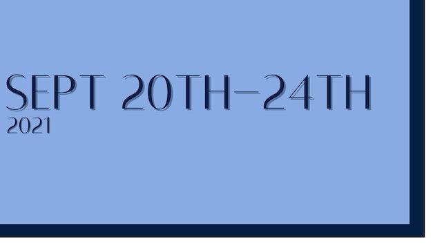 September 20th-24th