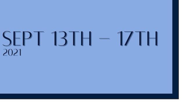 September 13th-17th