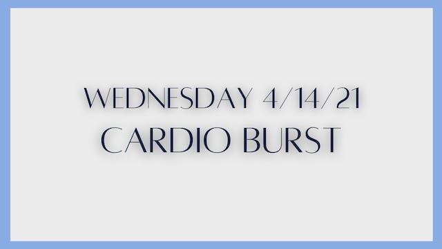 Cardio Burst (4-14-21)