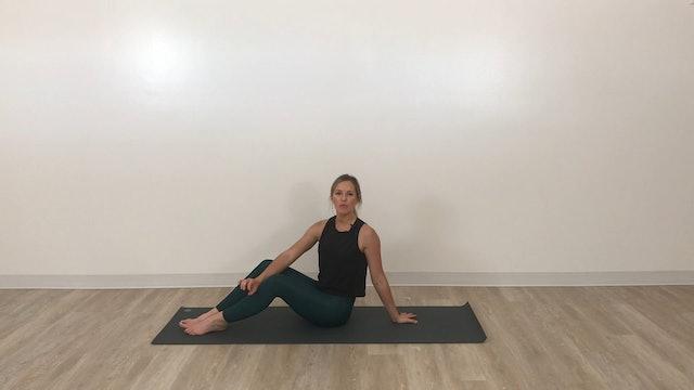 25 minute Slow Yoga Burn (wrist-friendly, hot room encouraged)
