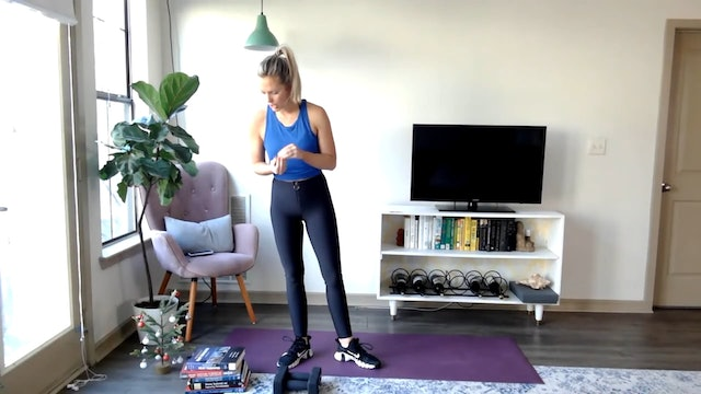 Build & Sweat: Glutes, inner thighs, abs (12/1/20)