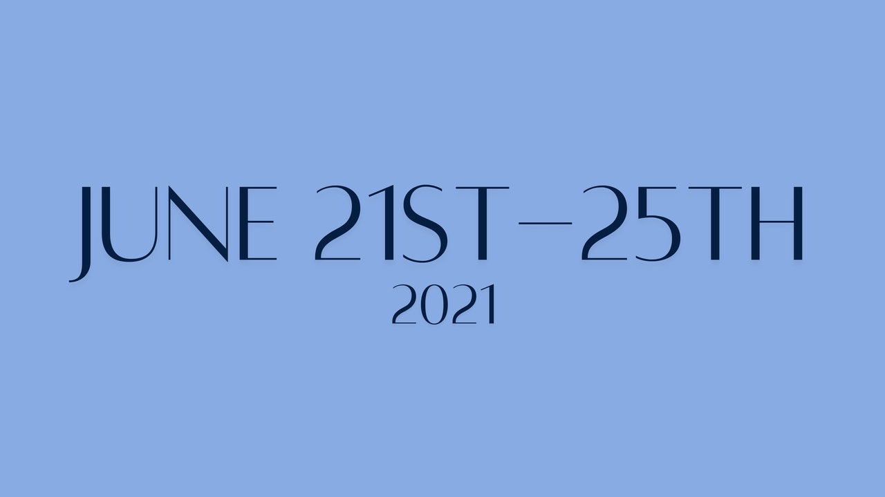 June 21st-25th