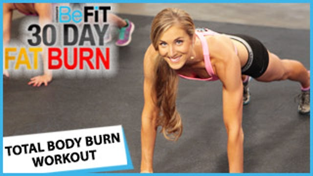 30 Day Fat Burn: Total Body Shred Workout