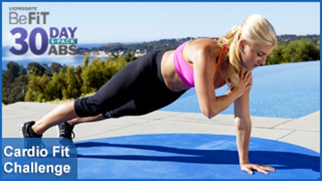 Cardio Fit Challenge | 30 Day 6 Pack Abs