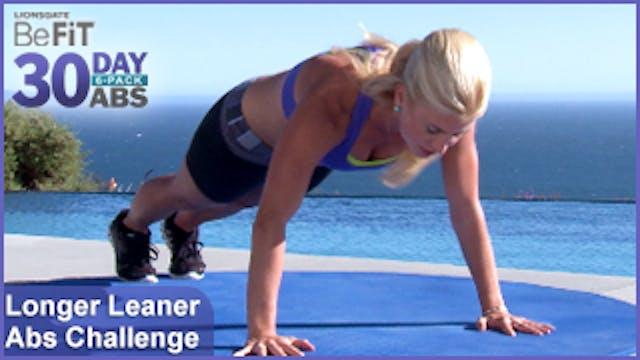 Longer Leaner Ab Challenge | 30 Day 6...