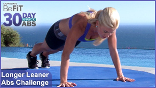 Longer Leaner Ab Challenge | 30 Day 6 Pack Abs