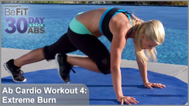 Ab Cardio Workout 4: Extreme Burn | 30 DAY 6 PACK ABS