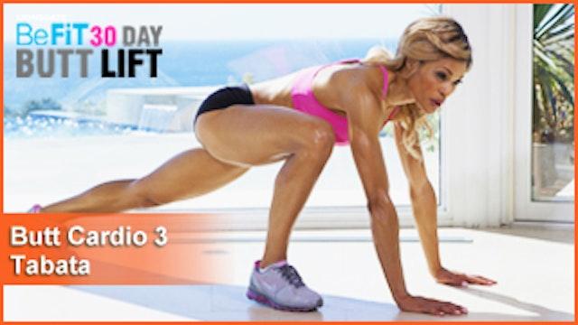 Butt Workout Cardio 3: Tabata | 30 DAY BUTT LIFT