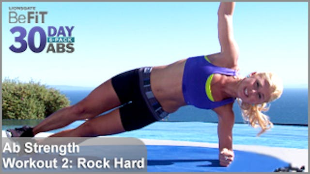Ab Strength Workout 2: Rock Hard | 30 DAY 6 PACK ABS