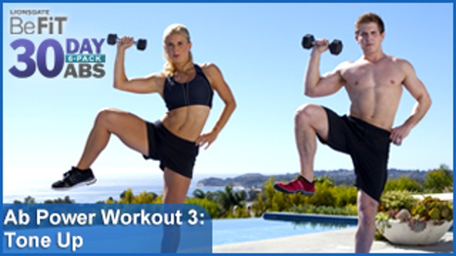 Ab Power Workout 3: Tone Up | 30 DAY 6 PACK ABS
