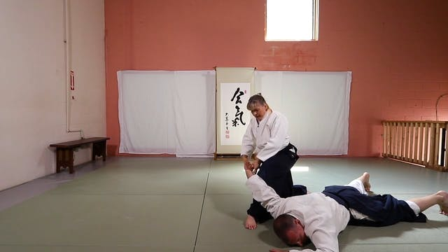 Suwari Waza Shomen Uchi Yonkyo