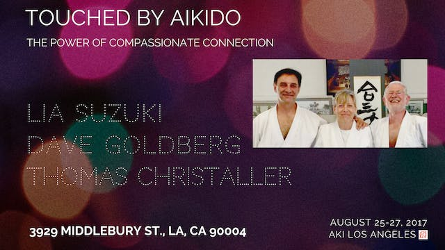 SEMINAR: Touched By Aikido: Suzuki • Christaller • Goldberg