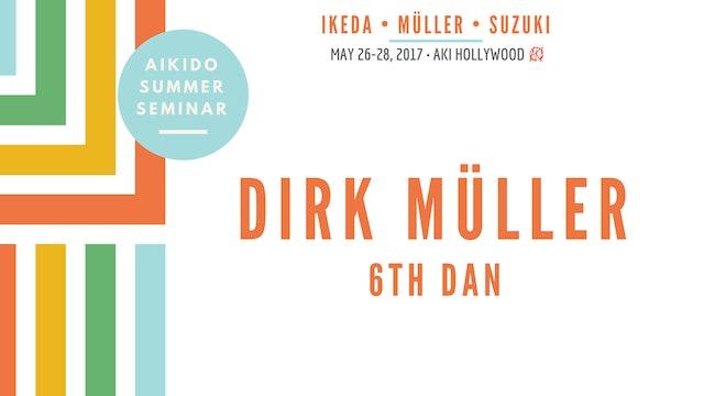 Aikido Summer Seminar, 2017 - Dirk Müller, 6th dan